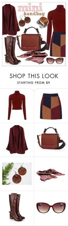 """""""Sweet Mini Handbags"""" by apple-named-doris ❤ liked on Polyvore featuring A.L.C., LaMarque, Monsoon and Minime"""