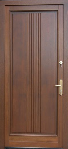 Wooden doors 10 Ideas for a Special Entrance to Your Home! – Homemidi How to build a Green-house Art Wooden Main Door Design, Modern Wooden Doors, Wooden Front Doors, Front Door Design, The Doors, Wood Doors, Panel Doors, Modern Front Door, Porch Wooden