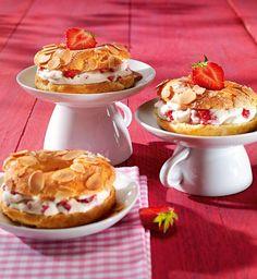 Erdbeer-Knusper-Ringe Rezept | Dr. Oetker