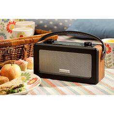 Buy ROBERTS Vintage DAB Digital Radio Online at johnlewis.com