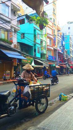 Traveling Market . Ho Chi Min City