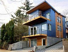1000 images about modern prefab on pinterest lindal for Prefab homes seattle