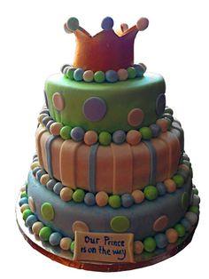Prince Babyshower Cake