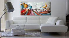 Quadri dipinti a mano su tela, moderni e particolari creati per arredare con stile e originalità i tuoi ambienti. Quadri moderni astratti dipinti