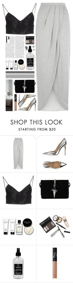 """""""Set 877 ft. Cesare Paciotti Bag"""" by yen-and-len ❤ liked on Polyvore featuring New Look, Gianvito Rossi, Alexander Wang, Cesare Paciotti, Bobbi Brown Cosmetics, Borghese, Little Barn Apothecary and NARS Cosmetics"""