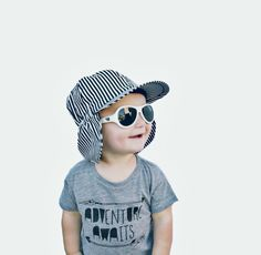 Cool baby style! Stripes Sun Hat George Hats f2d55934e98d