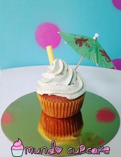 Haz estos estupendos cupcakes de mojito!!!
