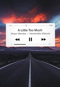 A little too much by shawn mendes. I love this song it describes me perfectly