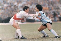 Luis Reyna & Diego Maradona