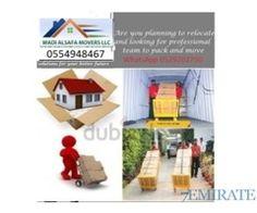 WADI AL SAFA MOVERS PACKERS LLC 0554948467 YOUSIF