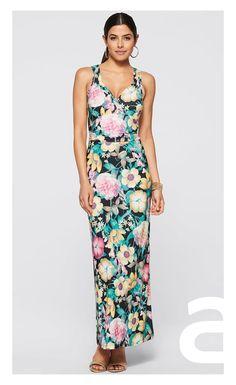 stylizacja casual, ciekawa stylizacja, moda damska, sukienka w kwiaty, sukienka maxi Peplum Dress, Casual, Dresses, Fashion, Vestidos, Moda, Fashion Styles, Dress, Fashion Illustrations