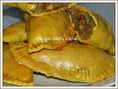 Nigerian meat pie. Yummy!