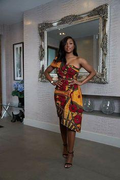 African Print Dress Designs, African Print Clothing, African Print Fashion, Short African Dresses, Latest African Fashion Dresses, African Print Dresses, Ankara Dress Styles, African Attire, Aso Ebi Lace Styles