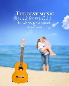 Best Music is the beauty of your words