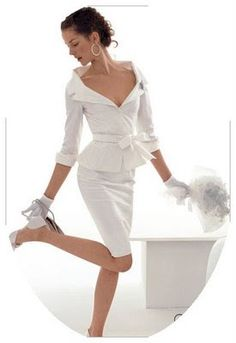 BRIDE CHIC: SUIT CHIC