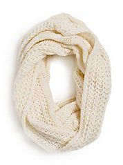 GUESS by Marciano Knit Infinity Scarf canvas white Vogue, Guess By Marciano, Shawls And Wraps, Passion For Fashion, Just In Case, Style Me, Fashion Beauty, Fashion Accessories, Cute Outfits