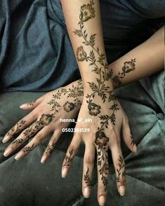 New Henna Designs, Wedding Henna Designs, Henna Tattoo Designs Simple, Floral Henna Designs, Mehndi Designs Book, Back Hand Mehndi Designs, Arabic Henna Designs, Mehndi Designs For Beginners, Mehndi Design Photos
