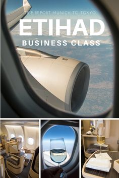 Traveling on Etihad Airways in Business Class from Munich via Abu Dhabi to Tokyo. Sharing my experience of this Flight #review #tripreports #businessclass #food #seat #lounge #travel #airplane #drinks #foodporn #luxury #upintheair #lieflat #reisen #fliegen #review #paxex