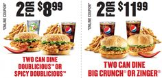KFC Meal Deals for $5 and app coupons - Exp. August 7 2016. - kfc http://www.groceryalerts.ca/kfc-meal-deals-5-app-coupons-exp-august-7-2016/