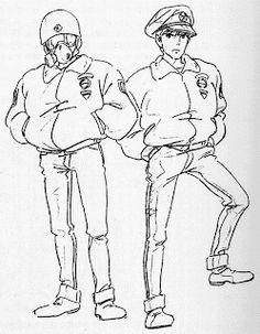 Living Lines Library: オン・ユア・マーク / On Your Mark Short) - Model Sheets & Storyboards Character Design Animation, Character Art, Studio Ghibli Characters, Animation Storyboard, Studio Ghibli Art, Ghibli Movies, Hayao Miyazaki, Anime, Character Illustration