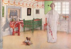 Carl Larsson - Our Guardian Angel Catalog