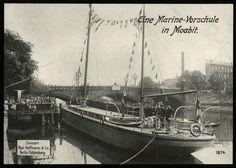Marine-Schulschiff in Berlin, um 1912