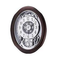 4MH869WU06 Anthology Espresso Rhythm Clock
