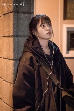 ": IU is Ahn Ji-eun in My Mister (My Ajusshi). The Live Recap is on Drama Milk. ""Nice guys finish last."" We've all heard this saying, and society continues to debate if it's true. As far as Korean dramas, there are a… Asian Actors, Korean Actresses, Korean Actors, Actors & Actresses, Korean Dramas, Korean Star, Korean Girl, Kdrama, Iu Fashion"