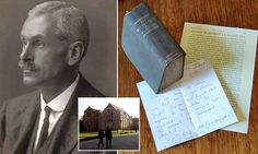 Alice Gillett, of Taunton, Somerset, came across her grandfather's unreturned library book from Hereford Cathedral School. Professor Arthur Boycott checked out the book in 1886.