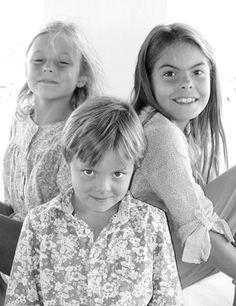 De kinderen van Prins Constantijn en Prinses Laurentien, Gravin Eloise, Gravin Leonore en Graaf Claus-Casimir, 2012 © RVD, foto: Prins Constantijn