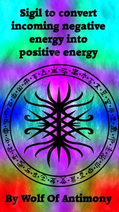 Numerology Spirituality - Sigil to convert incoming negative energy into positive energy Requested by anonymous Get your personalized numerology reading