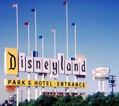 Classic Disneyland Sign