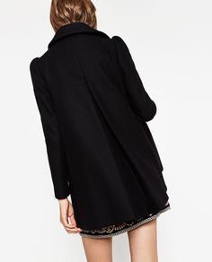 COAT WITH EMBROIDERED YOKE-View all-OUTERWEAR-WOMAN | ZARA Hong Kong S.A.R. of China