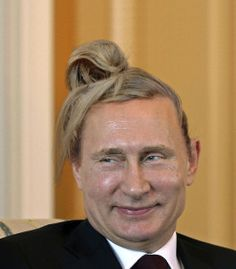 Another of Putin (it's just too good):