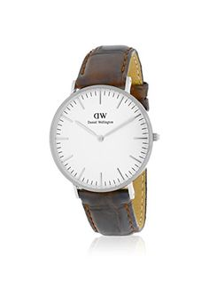 Daniel Wellington Women's 0610DW York Analog Display Quartz Brown Watch
