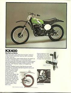 1976 Kawasaki KX400 Motocross Ad