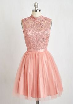 Belle Me Something Good Pink Dress. #modcloth