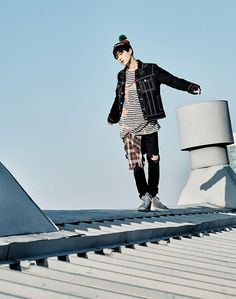 Suga! He be lookin' fly for this comeback! His overall style is the most appealing imo