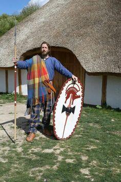 roupa de guerra gaulesa (península ibérica) - roupa