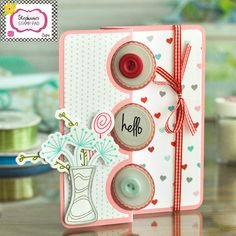 The Stamps of Life with Stephanie Barnard: Stephanie's Stamp Pad! FREE Card Class Video!