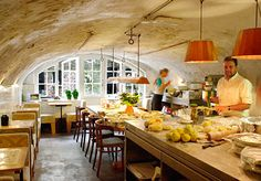 Utrecht, Netherlands - cozy + bright + clean and simple + abundant and rich + old world charm with a modern ambiance = something seductive about this place - De Bakkerswinkel Cafe Bistro, Cafe Bar, Cafe Restaurant, Utrecht, Amsterdam, Love Cafe, Lunch Room, Like A Local, Cozy Place
