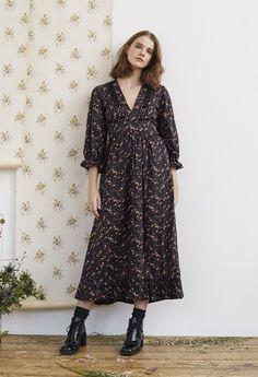 Liberty Print Cotton London Fields Dress