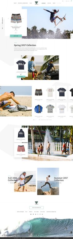 Vissla lookbook