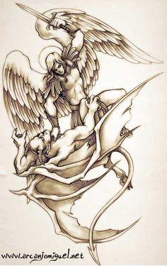 arcanjo rafael tatuagem - Pesquisa Google