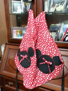 Minnie Mouse apron ( project with mom)!