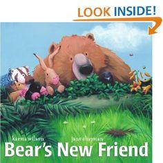 Amazon.com: Bear's New Friend (9780689859847): Karma Wilson, Jane Chapman: Books