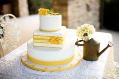 ...and white cake
