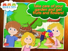 This game is all about fun stuff kids do at home.  FREE app April 17th: Ellie's Fun House - An exciting new Educational preschool children game where brother and sister get to play while learning to do fun day to day home tasks.