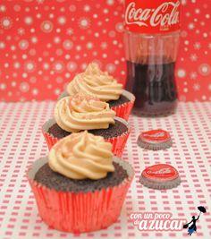 cupcakes cocacola