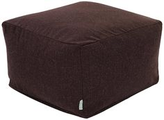 Majestic Home Goods Wales Ottoman, Large, Chocolate >>> Wow! I love this. Check it out now! (This is an amazon affiliate link. I may earn commission from it)
